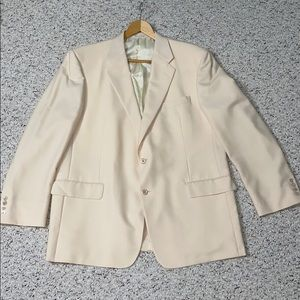 Elegant Double breasted 2 button Cream Jacket